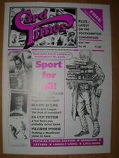 CARD TIMES MAGAZINE FORMERLY CIGARETTE CARD MONTHLY No 89 MAY 1997