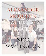 ALEXANDER MCQUEEN WORKING PROCESS - 9788862082952 PHOTOGRAPHS BY NICK WAPLINGTON