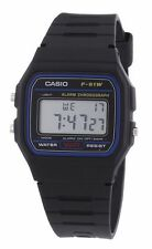 Original Casio F91W-1 F91W Watch Water Resistant 30M Resin Strap  quartz crystal