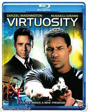 VIRTUOSITY BLU-RAY - DENZEL WASHINGTON - RUSSELL CROWE - AUTHENTIC US RELEASE