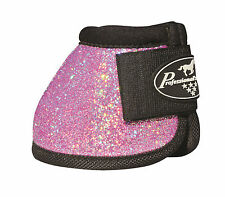 Pink GLITTER Large Professionals Choice Horse Over-Reach Bell Boots