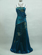 Cherlone Plus Size Blue Ballgown Bridesmaid Formal Wedding/Evening Dress 20-22