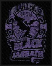 "BLACK SABBATH ""Lord Of This World"" Patch/ricamate 602637 #"
