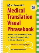 McGraw-Hill's Medical Translation Visual Phrasebook, Bobenhouse, Neil