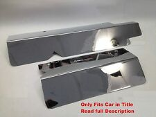 Camaro Firebird LT1 1994-1997 Polished FUEL RAIL COVERS w/ CHROME CAPS stainless