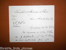 ✒ L.A.S. Victor BALTHAZARD médecin doyen faculté médecine paris 1932 Citroën