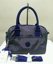Kipling Beonica Handbag Sling Bag Polka Purple