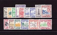 ST KITTS 1954-63 COMPLETE SET SG 106a-118 MNH.