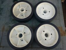"Set of 4 Mountfield 6.5"" (165mm) Lawnmower Wheels"