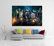 THE AVENGERS ASSEMBLE MARVEL GIANT WALL ART PICTURE PRINT POSTER G53