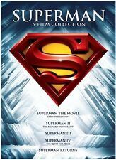 Superman: 5 Film Collection [5 Discs] (2013, REGION 1 DVD New)