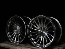 """19""""3sdm 0.04 silv audi a3/a4/vw passat/golf 5/tt/seat/skoda alloy wheels 8.5/10"""