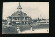 France VICHY Le Golf club house playing croquet c1900s? PPC