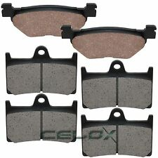Front Rear Brake Pads For Yamaha XV1700PC Road Star 1700 Warrior 2002-2009