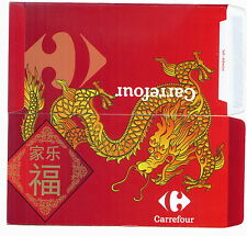 Ang pow-red packet Carrefour 2 pcs dragon 2012 new