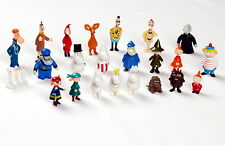 Moomins on the Riviera Plastic Figures 23 Moomin Characters Martinex Finland
