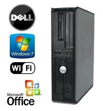 Optiplex Quad Core 2.33GHz 8GB DDR3 256GB SSD HDD + DUAL MONITOR SUPPORT(VGA) PC
