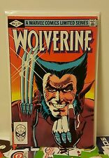 Wolverine 1 limited mini series 1982 frank miller key issue marvel comics
