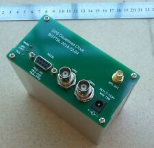 GPS DISCiPLINED CLOCK GPSDO 10MHz 10M OUTPUT SQUARE WAVE RS232 OUTPUT:GPS NMEA