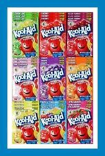 10 Packs Kool-Aid YOU CHOOSE FLAVOR Unsweetened Drink Mix Packets