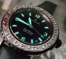 Blancpain Fifty Fathoms Watch Automatic Steel Used Mint Silver Black