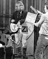 BRIAN JONES Rolling Stones ROCK'n ROLL CIRCUS Clap TV BBC Tournage Photo 1968