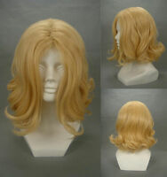 15.7'APH France Francis Bonnefoy Blonde Hetalia Cosplay Wig Light gold wigs