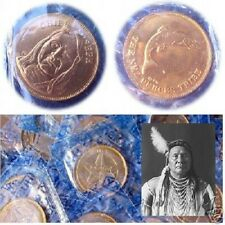 Chief Joseph: Nez Perces.  Rugged Americans Coin. Franklin Mint. New, Sealed!