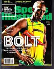 July 18, 2016 Usain Bolt Jamaica Track and Field SPORTS ILLUSTRATED NO LABEL