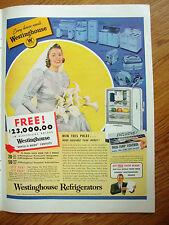 1940 Westinghouse Refrigerators Ad Wedding Bride 1940 Calvert Whiskey Ad Deer