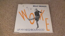 BILLY BRAGG - YOU WOKE UP MY NEIGHBOURHOOD (ORIGINAL, RARE CD SINGLE)