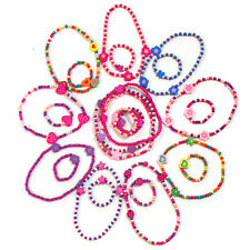 24 pack of princess party loot bag jewellery: 12 x necklaces, 12 x bracelets