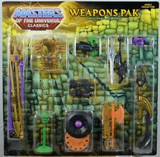 Masters Of The Universe Classics Weapons Pak Great Wars NEW MIB FREE SHIPPING!!