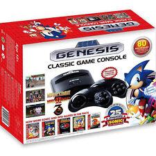 SEGA Genesis Classic Mini Retro Video Game System 80 Games NEW