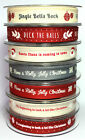 1m Berisfords 15mm Musical Christmas Ribbon Choice Designs For Card Making Craft
