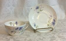 CH FIELD HAVILAND LIMOGE TEA CUP AND SAUCER Set