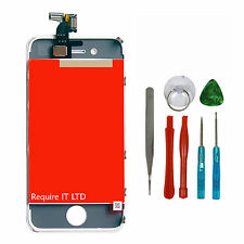 Replacement For Apple iPhone4S LCD Touch Screen & Digitizer in White UK +TOOLS