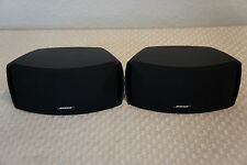 BOSE 321 SPEAKERS - BLACK