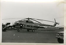 PHOTO ANCIENNE - VINTAGE SNAPSHOT - HÉLICOPTÈRE RUSSE LE BOURGET - HELICOPTER 73