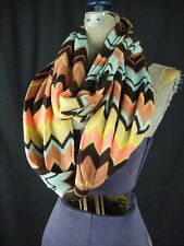 MISSONI FOR TARGET colorful zigzag Wool Blended Loop Scarf- sold out!!