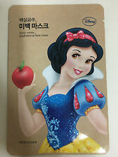 THE FACE SHOP 1sheet Disney SNOW WHITE BRIGHTENING FACE MASK PACK