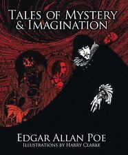 Tales of Mystery & Imagination EDGAR ALLAN POE Illustrated BRAND NEW HARDCOVER