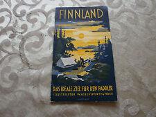 FINNLAND- Das ideale Ziel für Paddler, Nr. 141, 30iger Jahre