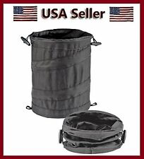Bell Wastebasket / Trash can Litter Container Car Auto Rv Pop Up Garbage Bin/Bag