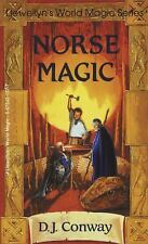 World Magic: Norse Magic by D. J. Conway (1990, Paperback)
