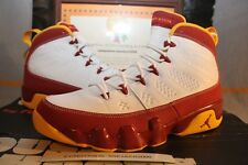 "2012 Nike Air Jordan IX 9 Retro ""CRAWFISH"" BENTLEY ELLIS Men Size 9 [302370-140]"