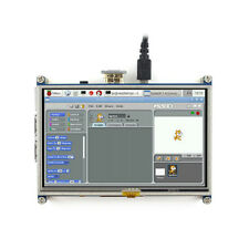 5 Inch Resistive Touch Screen LCD Pi 3 Model B HDMI 800x480 For RPi 2/3/B+