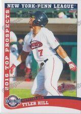 2016 New York Penn League Top Prospect NYPL Tyler Hill Red Sox