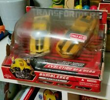 Transformers Deluxe Class Evolution of a Hero BumbleBee Classic Camaro Target C6