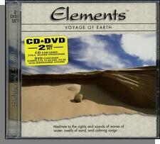 Elements: Voyage of Earth - New Age Music CD + Coastal Scenes Music DVD! New!